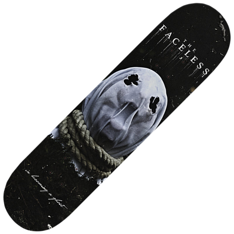 The Faceless - In Becoming A Ghost Skatedeck