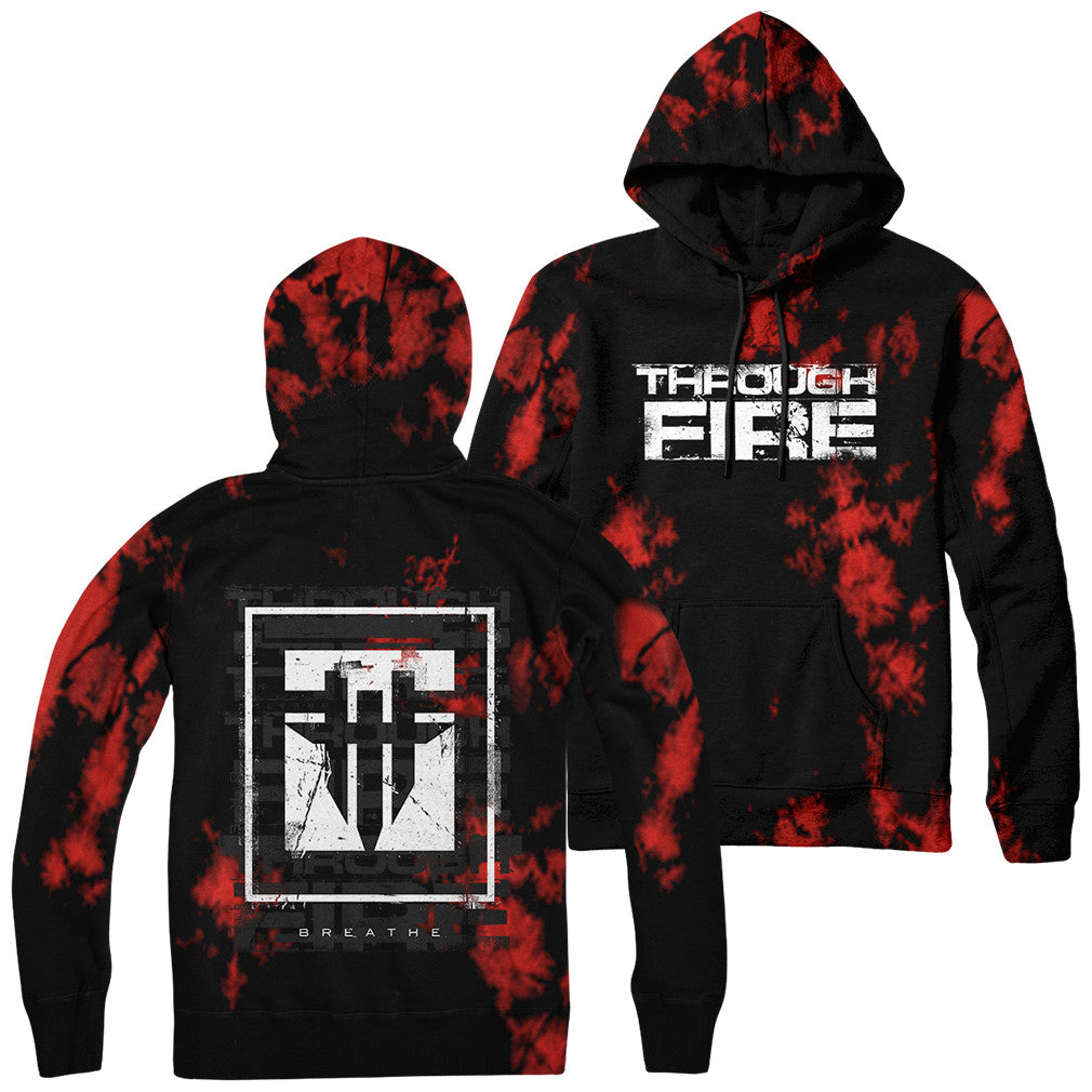 Through Fire - Red Dye Hoodie