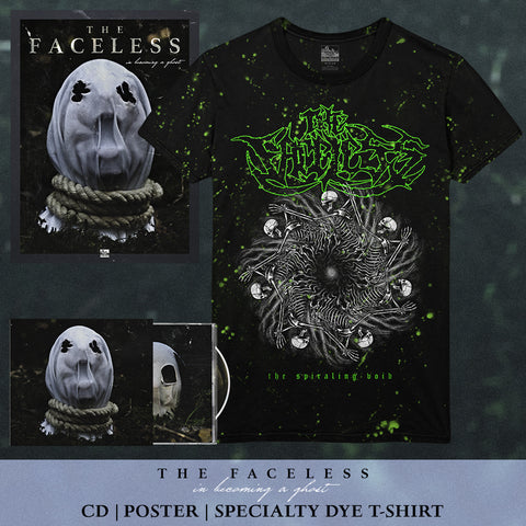 The Faceless - 'In Becoming A Ghost' Pre-Order Bundle 4