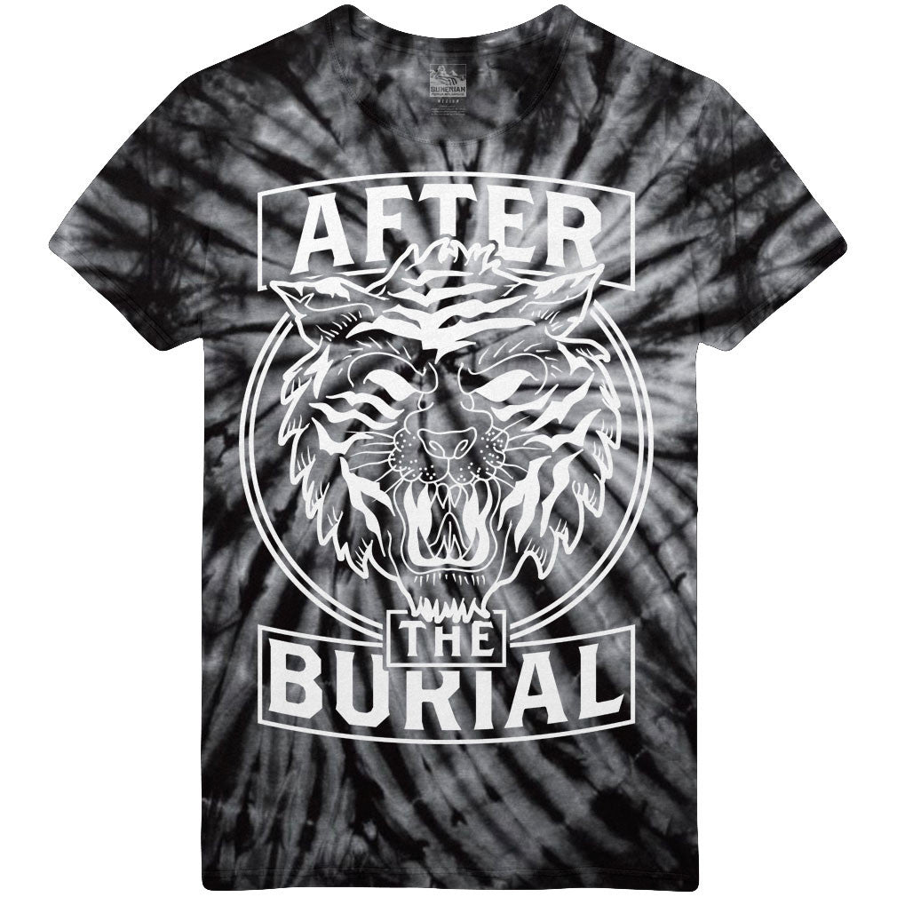 After The Burial - Tiger Black Dye Tee