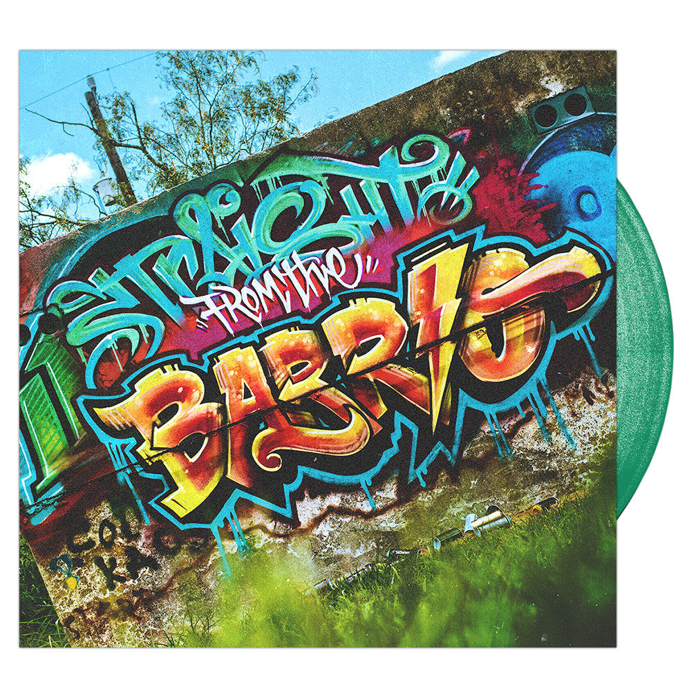 Upon A Burning Body - 'Straight From The Barrio' Trans Green Vinyl