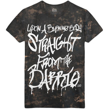 Upon A Burning Body - Barrio Acid Wash Tee