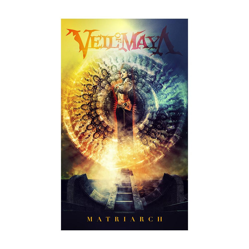 Veil Of Maya - Matriarch Wall Flag (Portrait)