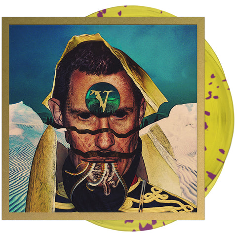Veil Of Maya - 'False Idol' Trans Yellow/Purple Splatter Vinyl