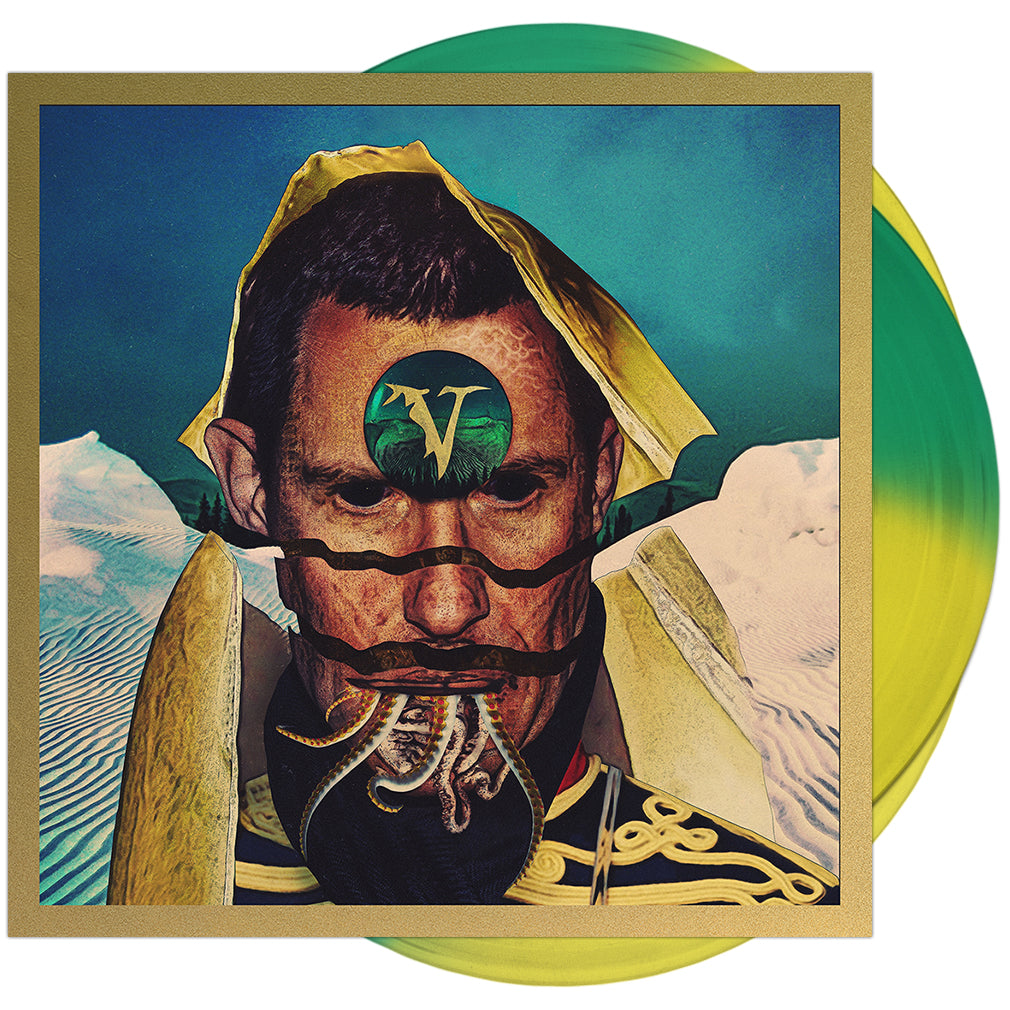 Veil Of Maya - 'False Idol' Green/Yellow Half/Half Vinyl