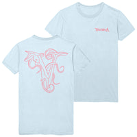 Veil Of Maya - Tentacle Ice Blue Tee