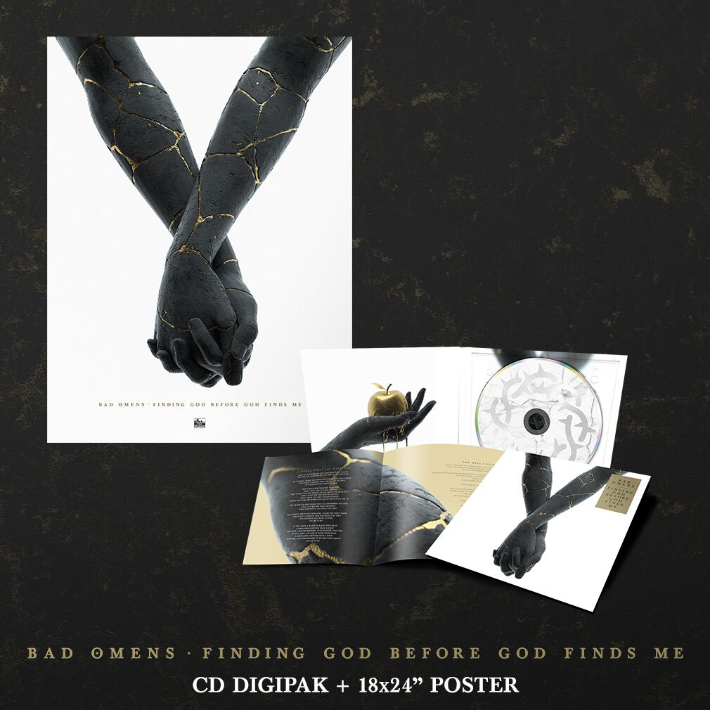 Bad Omens - 'Finding God Before God Finds Me' CD Digipak Pre-Order Bundle