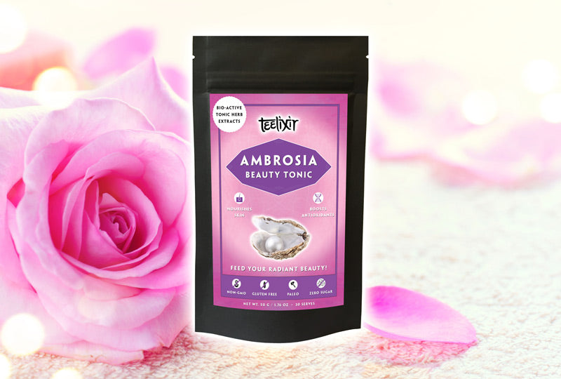 Teelixir Ambrosia Bbeauty Tonic Herb Blend Powder Extract