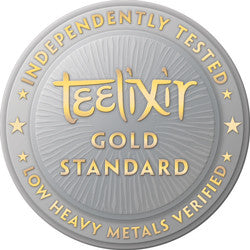 Teelixir Independently Tested Medicinal Mushroom Latte Blend Low Heavy Metals Verified