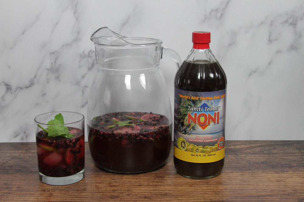 Noni Tequila BlackBerry Punch