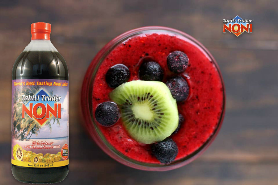 Tahiti Trader Triple Berry Noni Smoothie