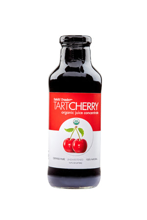 16 oz Tahiti Trader Tart Cherry ~ Organic Juice Concentrate