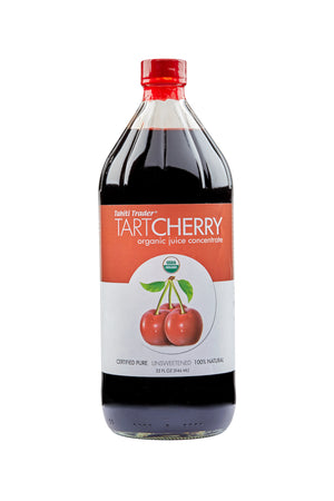 32 oz Tahiti Trader Tart Cherry ~ Organic Juice Concentrate