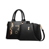 The Lille By AK Collection Two Piece Tote Handbag