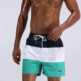 Men's Stripe Swim Shorts