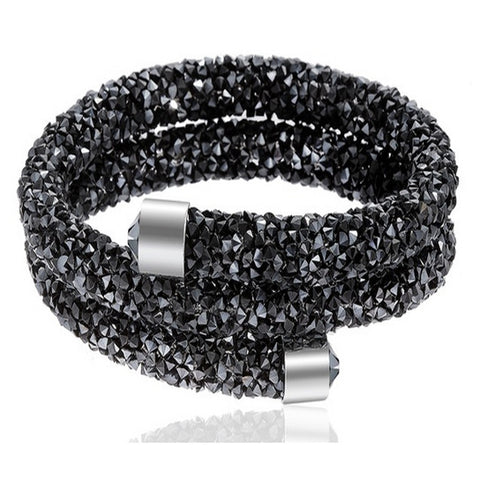 Swarovski Elements Double Wrap Bracelet
