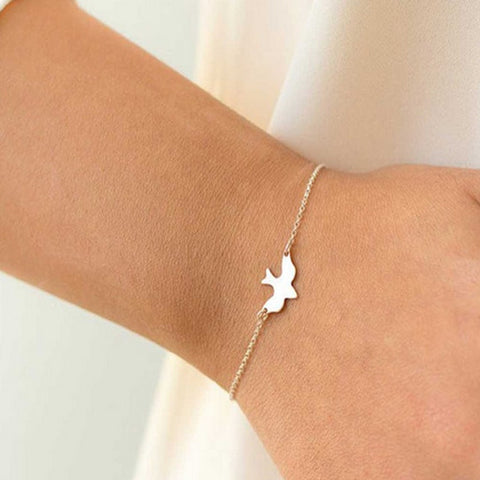 Flying Bird Chain Bracelet
