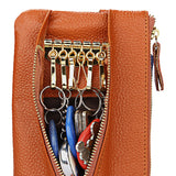 Leather Coin & Mobile Phone Purse