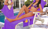 Beach Towel Lounger Bags