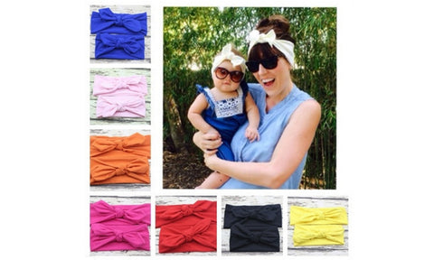 Mommy and Me Bow Headbands