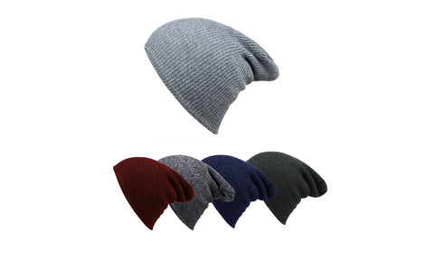 Men's Knitted Slouch Winter Hat