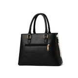 The Vichy By AK Collection Two Toned Tote Bag