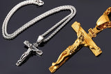 Stainless Steel Crucifix Necklaces