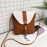 AK Collection Tassel Two Tones Cross Body