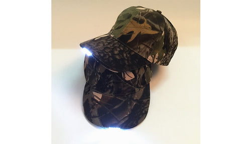 Unisex LED Flex Fit Hat Cap