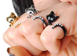 Purr-fect Meow Cat Rings Available in a Variety of Colours
