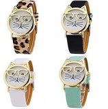 Purr-fect Meow Cat Watch
