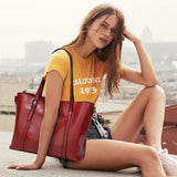 The Vienna By AK Collection Vegan Tote Handbang