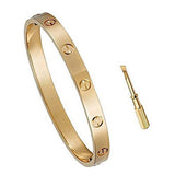 Eye Catching Stainless Steel Plated Bangle with Screwdriver