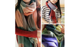 Plaid Cashmere Scarf in a Choice of Styles