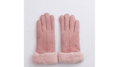 AK Collection Sherpa-Lined Woman's Winter Gloves