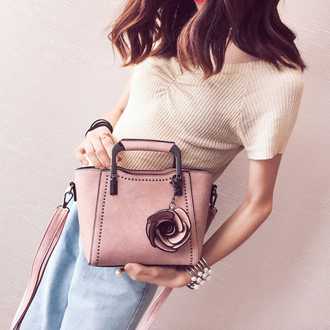 The Rosa By AK Collection Shoulder Bag