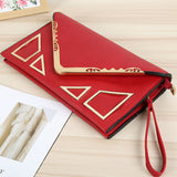 The Bella By AK Collection Geometric Envelope Clutch Bag