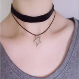 Choker Necklace with Choice of Pendants