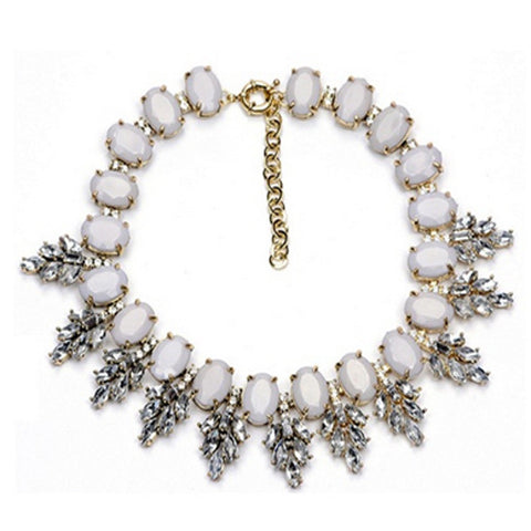 Winter Chunky Choker with Crystals from Swarovski®