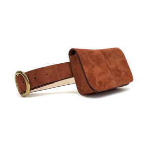 SIDNEY SUEDE BELT BAG