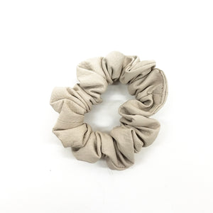 LEATHER HAIR SCRUNCHIE