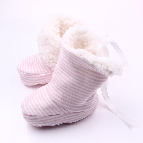 ART2BABY (PinkStriped) Booties