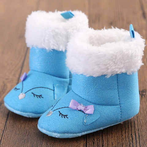 BeautyBow (Blue) Winter Boots