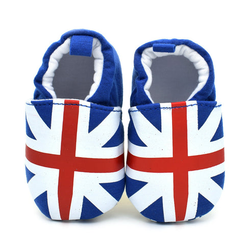 British Flag Moccasins