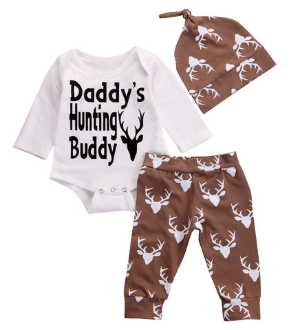Daddy's Hunting Buddy Suit Set