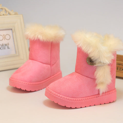 Grizzly Winter Booties (Pink)