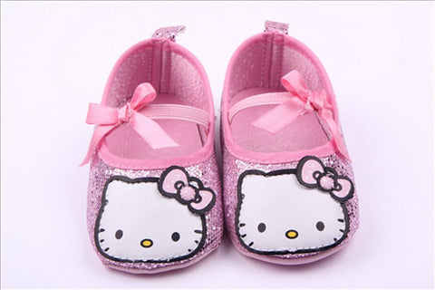 Hello Kitty Glitter Slippers (Pink)
