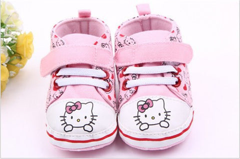 Hello Kitty Velcro Sneakers