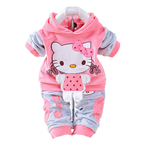 Hello Kitty Velour Suit