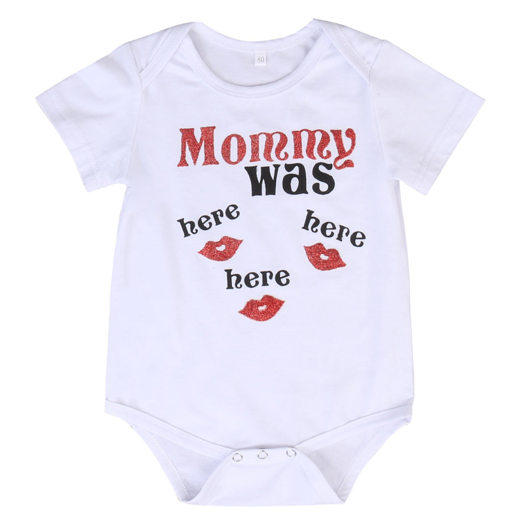 Mommy Was Here Romper